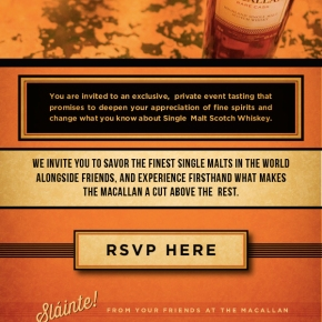 Raise The Macallan Tasting