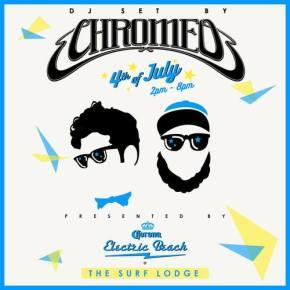 ELECTRIC BEACH – CHROMEO – JULY4TH