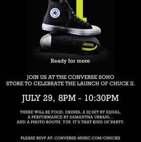 Converse – The Chuck Taylor All-Star II Launch Party‏