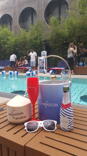 Chandon Pop Off Summer Pool Party