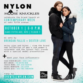 NYLON MAG & MOOSE KNUCKLES