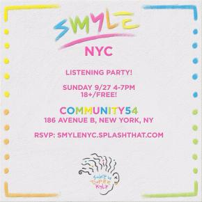 KYLE SMYLE LISTENING PARTY