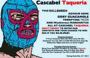 Cascabel Taqueria – Pumpkin Carving Contest