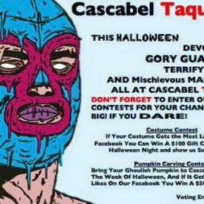 Cascabel Taqueria – Pumpkin CarvingContest