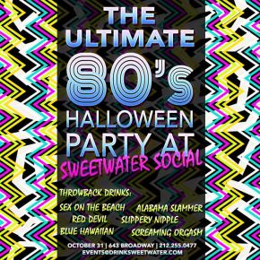 Sweetwater Social – 80's Halloween Party