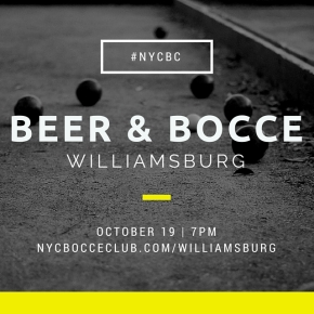 BEER & BOCCE!!
