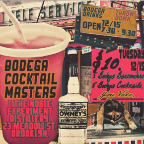 BODEGA COCKTAIL MASTERS