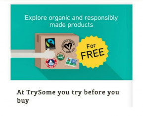 TrySome – Try Food & Products For Free