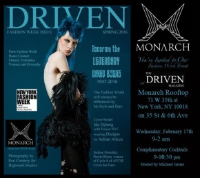DRIVEN MAGAZINE FASHION WEEK ISSUE LAUNCH EVENT