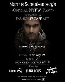 Marcus Schenkenberg's Official NYFW Party