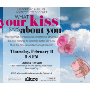 WHAT DOES YOUR KISS SAY? – LESPORTSAC & ALLURE