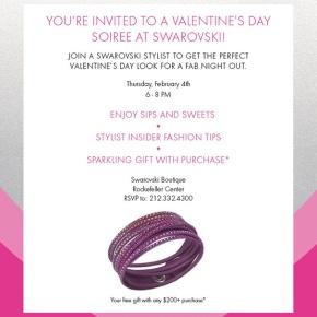 Swarovski Valentine's Event