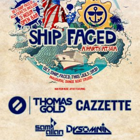 SHIP FACED W/THOMAS GOLD & CAZZETTE