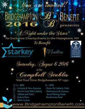 BRIDGEHAMPTON BENEFIT