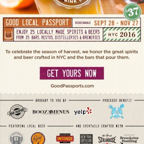 NYC Good Local Passport – 26 Local Spirits and Craft Beers