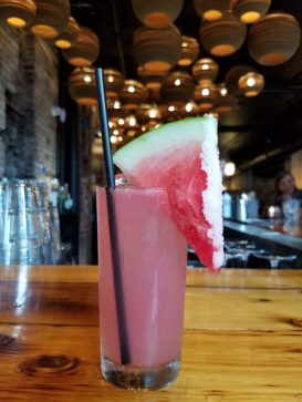 Watermelon Margarita from Talde in Jersey City
