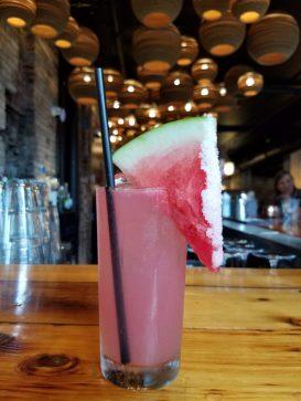 Watermelon Margarita from Talde in Jersey City