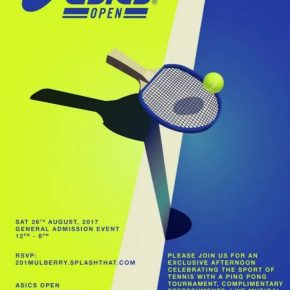 The ASICS Open – FREEEvent