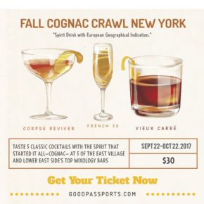 FALL COGNAC CRAWL NEW YORK