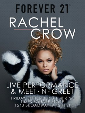 RACHEL CROW – MEET & GREET