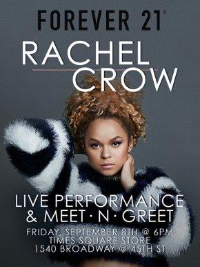 RACHEL CROW – MEET &GREET