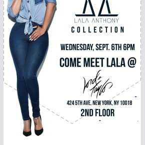 LALA ANTHONY LAUNCH – NYFW