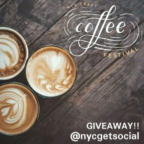 NYC CRAFT COFFEE FESTIVAL – GIVEAWAY