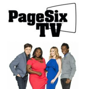PAGE SIX TV TAPING