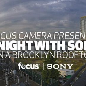 Focus Camera presents: A NIGHT WITH SONY