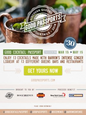 DISCOVER QUEENS GOOD COCKTAIL PASSPORT