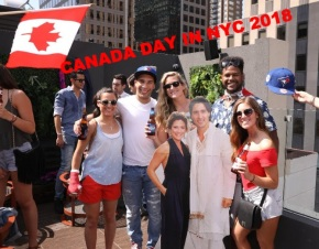 Canada Day NYC Rooftop Party