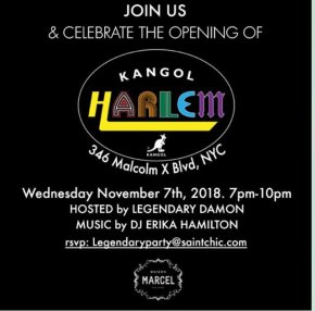 KANGOL HARLEM OPENING CELEBRATION