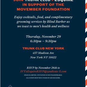 TRUNK CLUB + ESQUIRE + MOVEMBER