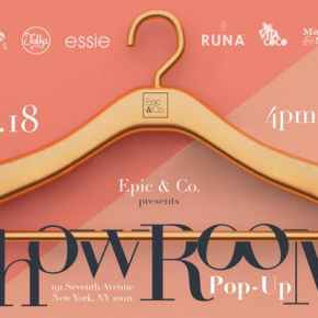 EPIC & CO – THE SHOWROOM POP UP