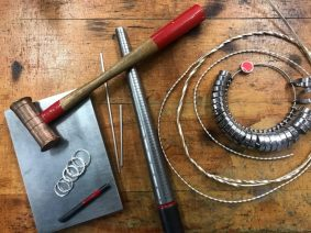 Make your own stacking silver rings