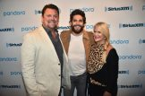 NEW YORK, NEW YORK - MAY 30: (L-R) SiriusXM Host Storme Warren, Thomas Rhett and Big Machine Label Group Senior Vice President of A&R Allison Jones pose backstage during Pandora Sound On Thomas Rhett Center Point Road Powered By Marshalls on May 30, 2019 in New York City. (Photo by Theo Wargo/Getty Images for Pandora Media)