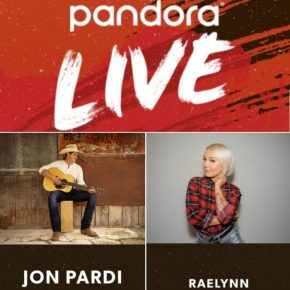 PANDORA LIVE WITH JON PARDI