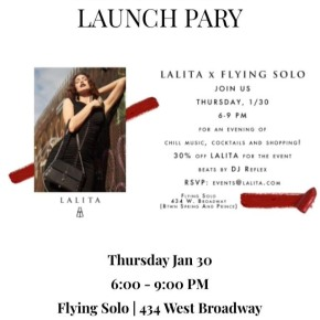 LALITA X FLYING SOLOEVENT