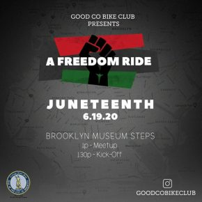 FREEDOM BIKE RIDE – JUNETEENTH