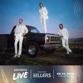 PANDORA LIVE – THEKILLERS