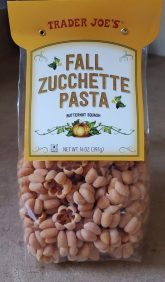 Fall Butternut Squash Zucchette Pasta